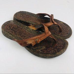 Teva Leather Sandals Size 7